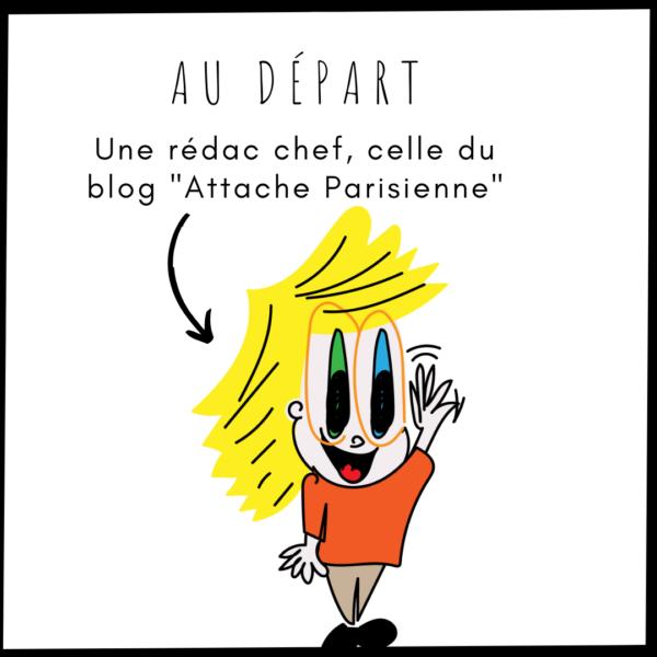 La rédac chef d'Attache Parisienne
