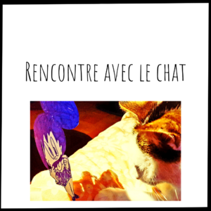 Odette rencontre le chat
